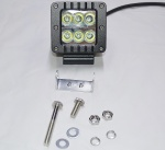 Lifetime LED 3'' Square 24W